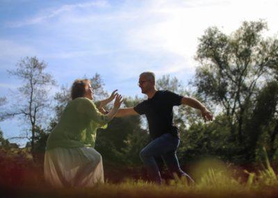 danse conjointe - Terre et source